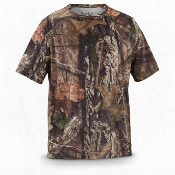 Guide Gear Men's Performance Hunting Camo Short-sleeve T-shirt