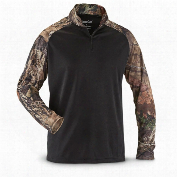 Guide Gear Men's Performance Hunting Quarter Zip Shirt
