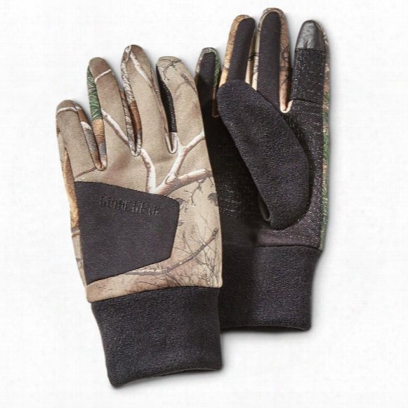 Guide Gear Men's Stretch Fleece Hunting Gloves