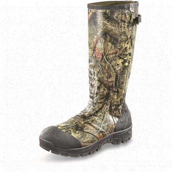 Guide Gear Men's Side Zip Ankle Fit Insulated Rubber Boots, 2,000 Grams