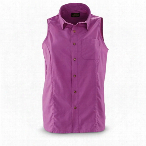 Guide Gear Women's Sleeveless Button-down Shirt