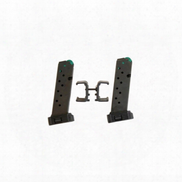 Hi-point 4095ts/4595 With Dual Mag Carrier, .45 Acp Caliber Magazine, 9 Rounds, 2 Pack