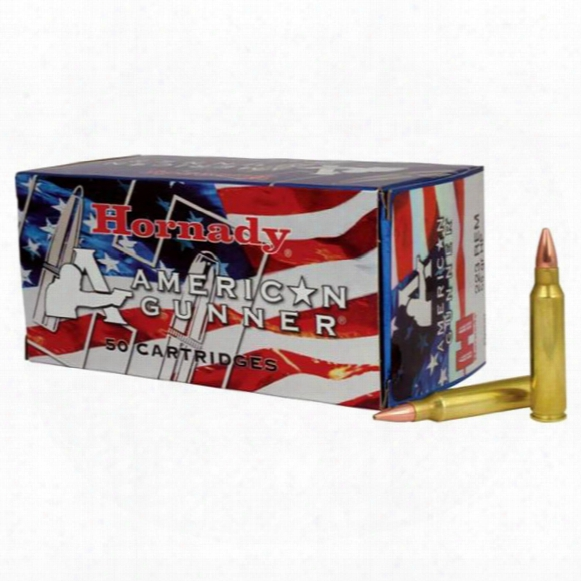 Hornady American Gunner, .223 Remington, Hp, 55 Grain, 50 Rounds