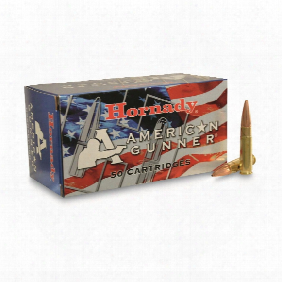 Hornady American Gunner, 300 Aac Blackout, Hp, 125 Grain, 50 Rounds