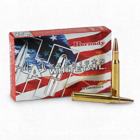 Hornady American Whitetail, .30-06 Springfield, Interlock Sp, 180 Grain, 20 Rounds