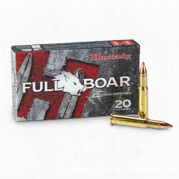 Hornady Full Boar, .30-30 Winchester, Monoflex, 140 Grain, 20 Rounds