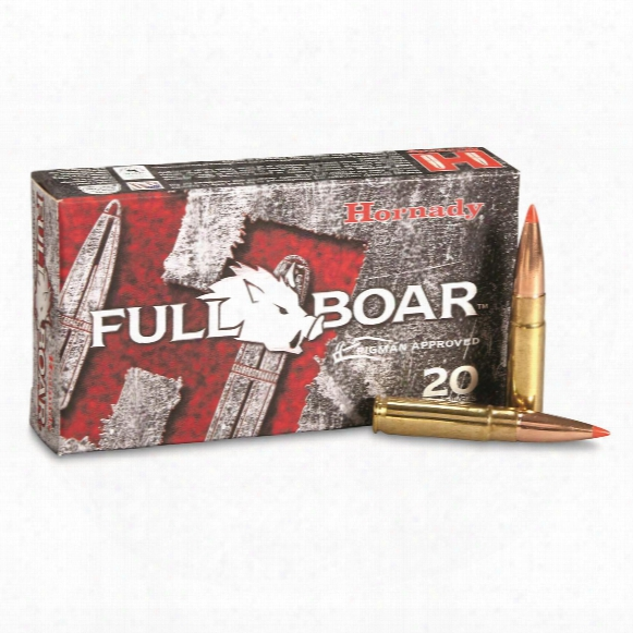 Hornady Full Boar, .300 Aac Blackout, Gmx, 110 Grain, Lead-free, 20 Rounds