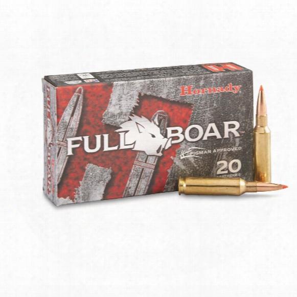 Hornady Full Boar, 6.5 Creedmoor, Gmx, 120 Grain, Lead-free, 20 Rounds