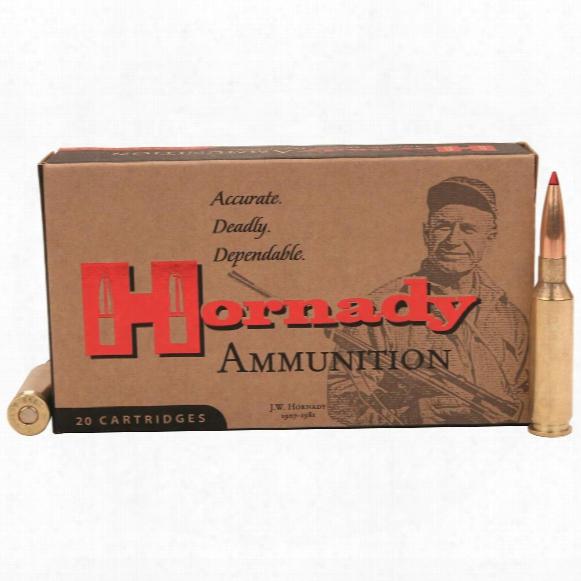 Hornady Superformance, .30-06 Springfield, Gmx, 180 Grain, Lead-free, 20 Rounds