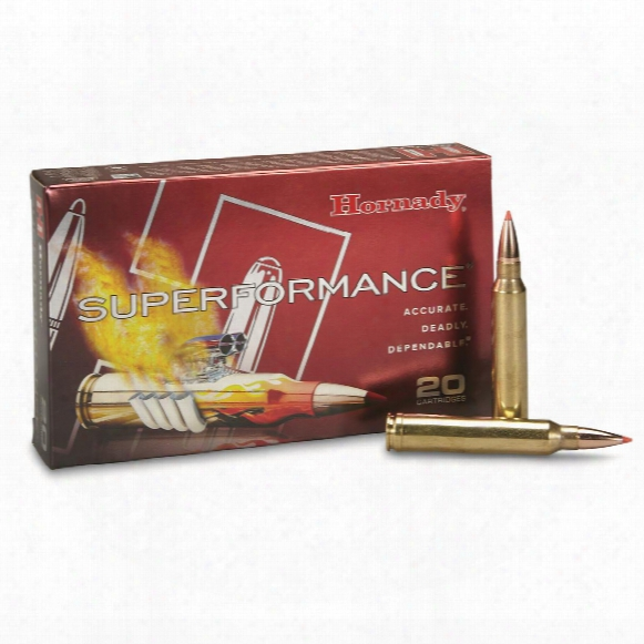 Hornady Superformance, .300 Winchester Magnum, Gmx, 180 Grain, 20 Rounds