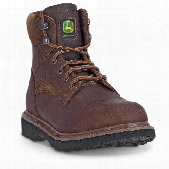 "John Deere Men's 6"" Lace-up Work Boots"