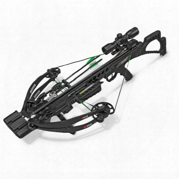 Killer Instinct Ki350 Crossbow, 175-lb. Draw Weight, 4x32mm Illuminated Scope