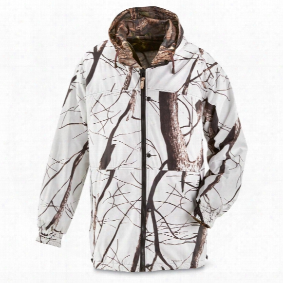 Master Sportsman Men's Reversible Camo / Snow Jacket, Waterproof