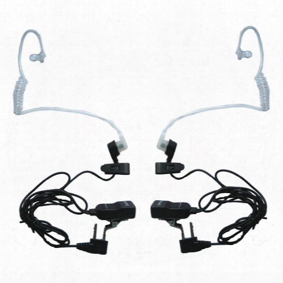 Midland Avph3 Surveillance Headset For Gmrs/frs Radios, 2 Pack