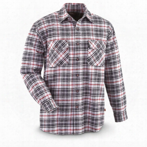 Moose Creek Men's Brawny Plaid Flannel Shirt
