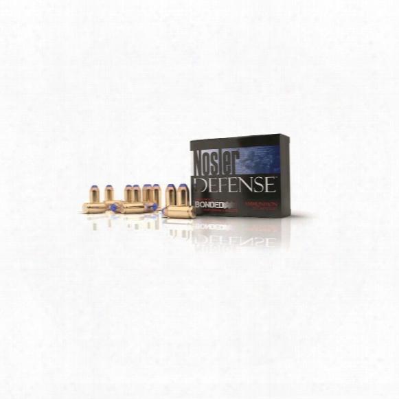 Nosler Defense Handgun, .45 Acp, Bonded Polymer Tipped, 230 Grain, 20 Rounds