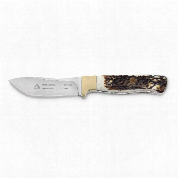 "Puma Sgb Saddleback Delrin Fixed-blade Knife, 3.8"" Blade"