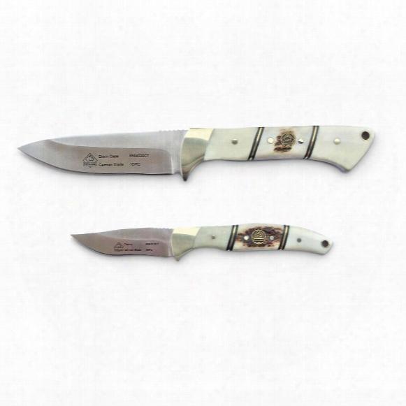 """Puma Sgb Skin'n Cape Knife Set, 2.25"""" And 3.75"""" Blades"""