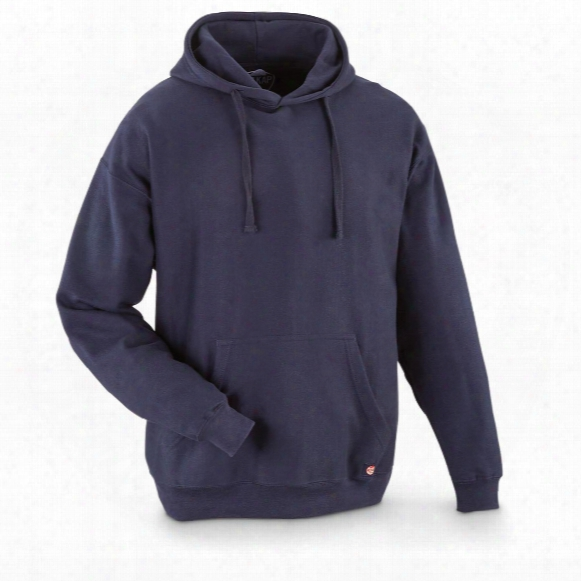 Red Kap Men's Workwear Fleece Pullover Hoodie