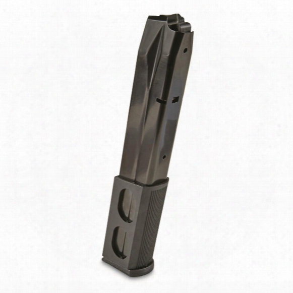 Red White & Blue Beretta 92, 9mm Caliber Magazine, 30 Rounds