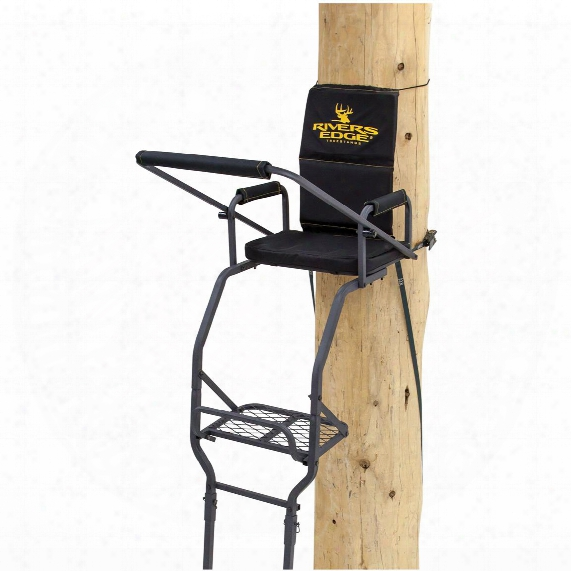 Rivers Edge Deluxe 1-man 16' Ladder Tree Stand