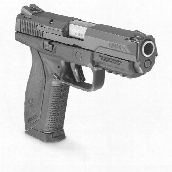 "Ruger American Pistol, Semi-automatic, .45 Acp, 4.5"" Barrel, 10+1 Round S"