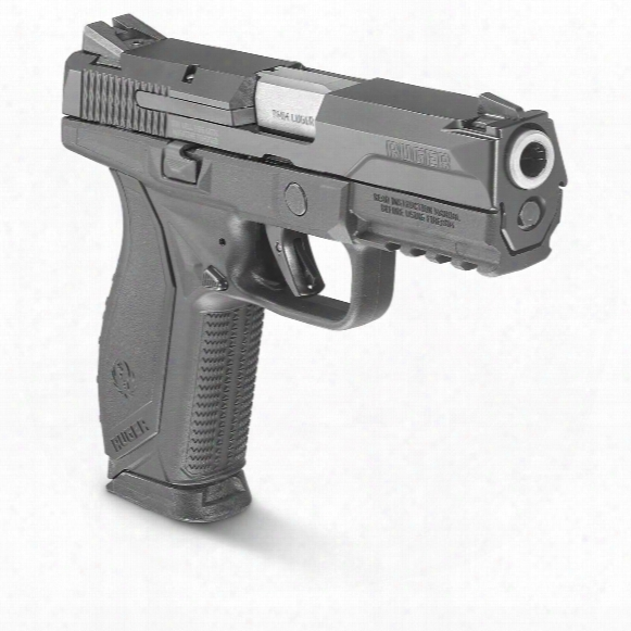 """Ruger American Pistol, Semi-automatic, 9mm, 4.2"""" Barrel, 17+1 Rounds"""