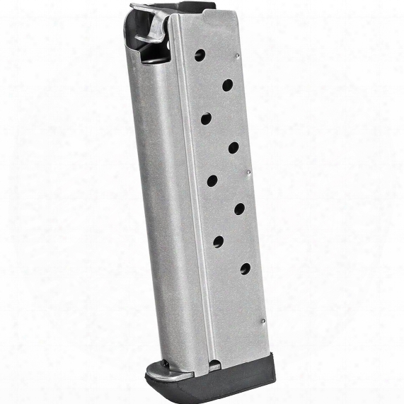 Springfield 1911 9mm Magazine, 9 Rounds, Stainless Finish