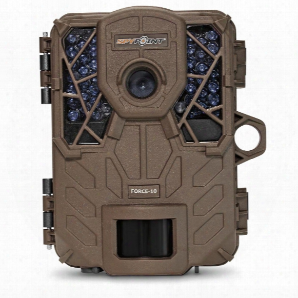 Spypoint Force-10 Hd Ultra Compact Trail/game Camera, 10mp