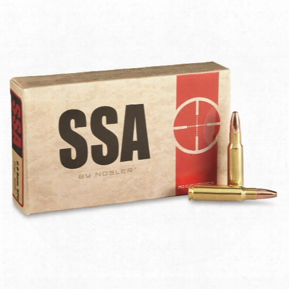 Ssa, 6.8mm Remington Spc, Bonded Performance, 90 Grain, 20 Rounds