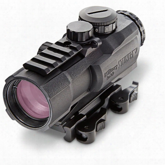 Steiner M322 3x32mm Prism Sight Irfle Scope, 7.62 Reticle