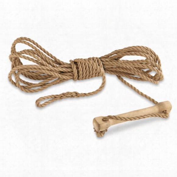 Swedish Military Issue Tent Tensioning Ropes, 4 Pack, New