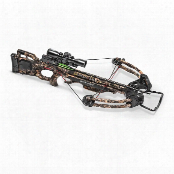 Tenpoint Turbo Gt Crossbow Package, 175-lb. Draw Weight, 3x Pro-view 2 Scope