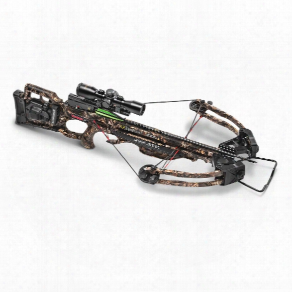 Tenpoint Turbo Gt Crossbow Package With Acudraw 50, 175-lb. Draw Weight, 3x Pro-view 2 Scope