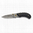 "Browning Carbon Fiber Style Folding Knife, 2.25"" Blade"