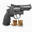 Crosman SNR357 Revolver Dual Ammo CO2 Air Gun, .177 Caliber, 6 Rounds