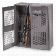 "HQ ISSUE Metal Gun Locker, 36""w x 42""h"