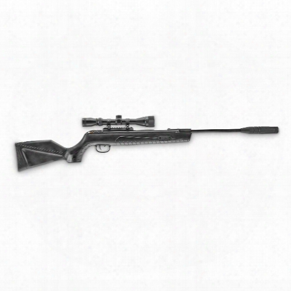 "Umarex Throttle Gas Piston Air Rifle, .22 Caliber, 15.9"" Barrel, 3-9x32 Scope"