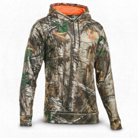 Under Armour Men's Franchise Camo Pullover Hoodie