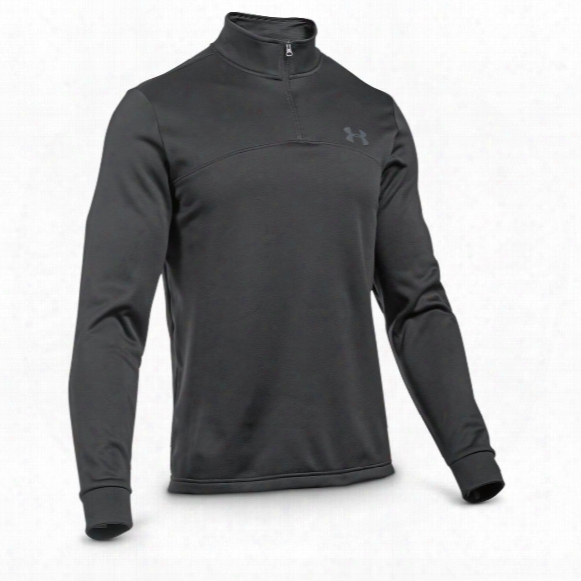 Under Armour Men's Icon Quarter Zip Fleece Shirt