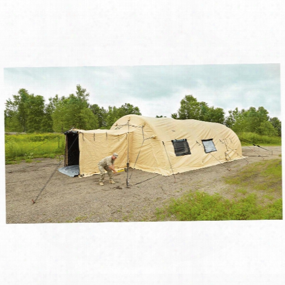 U.s. Military Surplus Airbeam Shelter, 32' X 20', New