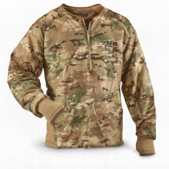 U.s. Military Surplus Multicam Anorak With Primaloft, New