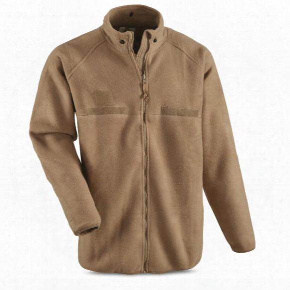 U.s. Military Surplus Polartec Base Layer Jacket, Nomex Flame Resistant, New