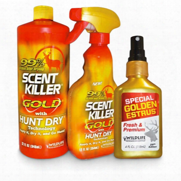 Wildlife Research Center Scent Killer/golden Estrus Combo