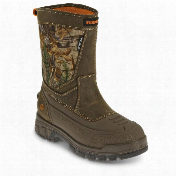 Wolverine Men's Jason Epx Insulated Pull On Hunting Boots