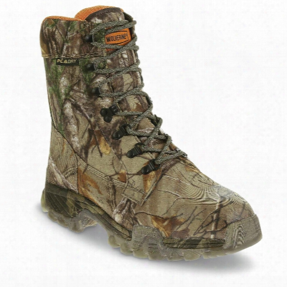 "Wolverine Men's King Caribou Iii Insulated Waterproof 8"" Hunting Boots"