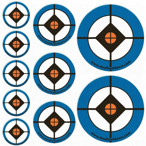 Accu Blue Replacement Shooting Target Stickers, 100 Pack