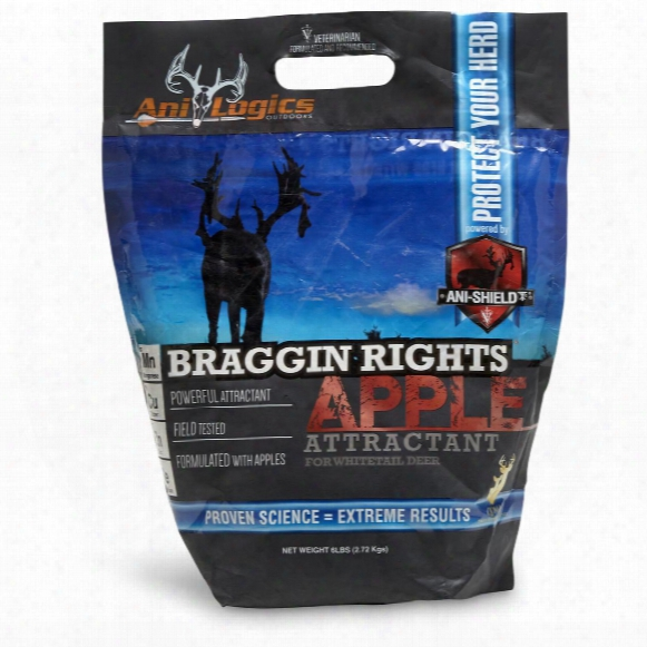 Ani-logics Braggin Rights Apple Attractant, 6 Lbs.