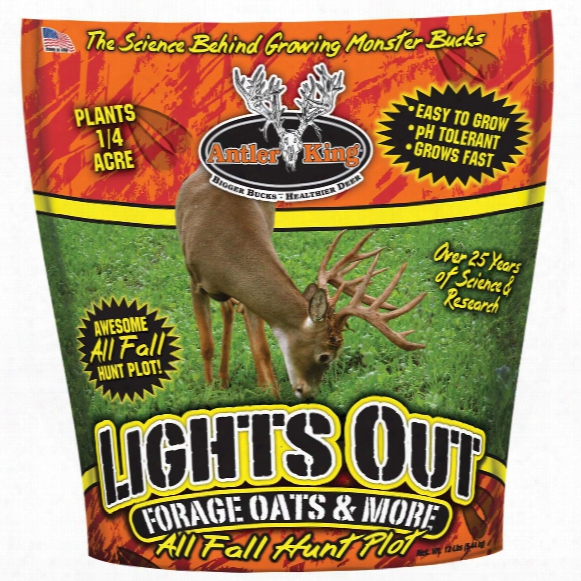 Antler King Lights Out Forage Oats & More, 12 Pounds