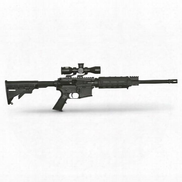 "Apf Econo Carbine,semi-automatic,.300 Aac Blackout, 16"" Barrel,nikon P-223 3x32mm Scope, 30+1 Rounds"
